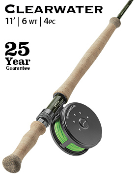 Clearwater Switch 6-weight 11' Fly Rod