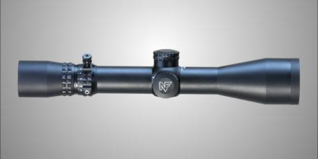 NightForce 2.5-10x42mm NXS Illuminated Compact Riflescope w/ ZeroStop and MOAR Reticle C458