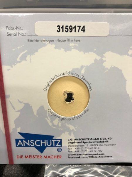 Anschutz 1913 Target in 1918 Precise Stock 22LR