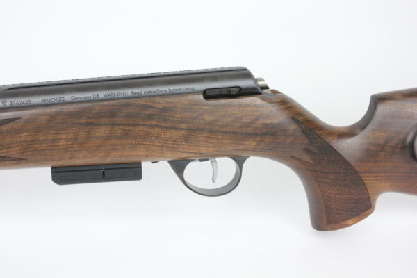 Anschutz 1771 D Walnut German Stock 204 Ruger