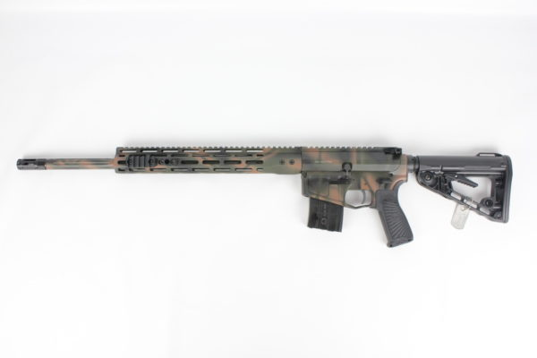 "Wilson Combat Super Sniper .224 Valkyrie Fluted  20"" Forest Camo"