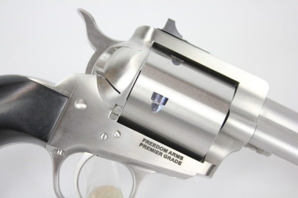 "Freedom Arms Model 97 Premier Grade 45 Colt 4.25"" Upgraded"