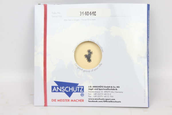 Anschutz 1710 D KL Limited Edition 22LR Monte Carlo