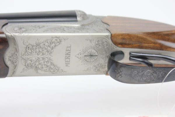 Merkel 147EL Side By Side Shotgun 20GA 28""