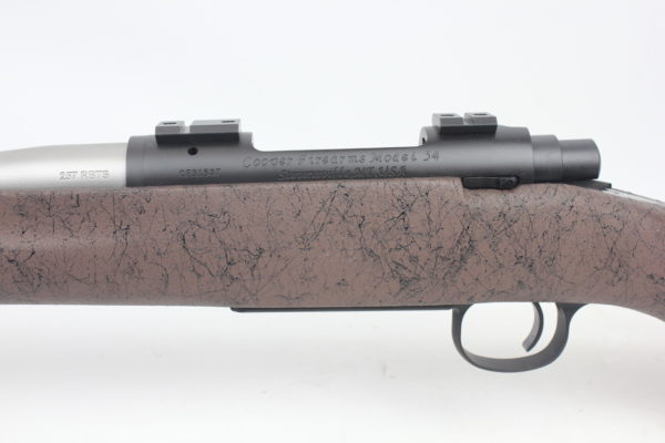 Cooper Firearms Model 54 Jackson Hunter 257 Roberts Brown
