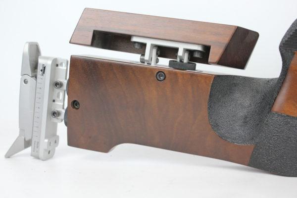 Anschutz 1907 Target w/ Aluminum Butt Plate 22LR