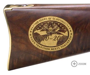 Henry Boy Scouts of America Centennial Edition Golden Boy 22 LR H004BSA