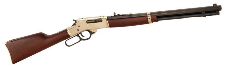 Henry .30/30 Brass w/ Octagon Barrel Rifle H009B