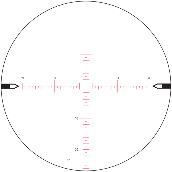 MOAR F1 Reticle