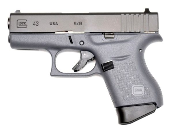 Glock G43 Subcompact Grey
