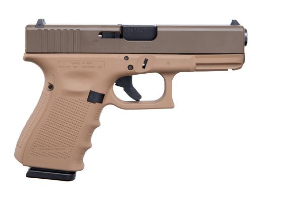 Apollo Custom Glock 19 Gen 4 9mm 15rd CKPBDDE