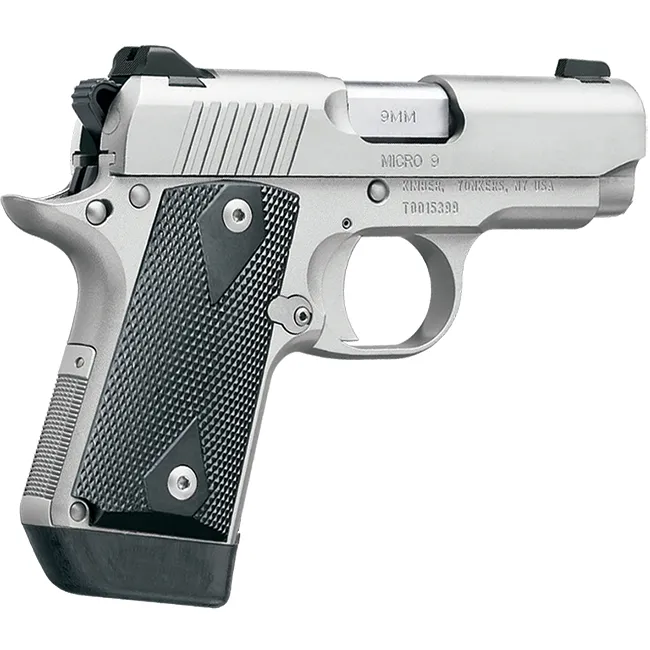 "Kimber 9mm Micro 9 Stainless Tfx Pr: Kimber Micro 9 Stainless 9mm 3.1"" 7rd"