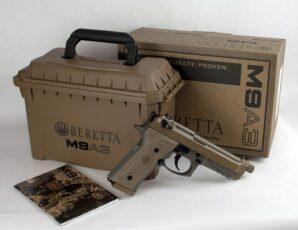 "Beretta M9A3 9mm 5"" Type F"