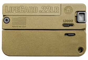 Trailblazer Firearms Lifecard 22LR Discreet Carry Pistol BB