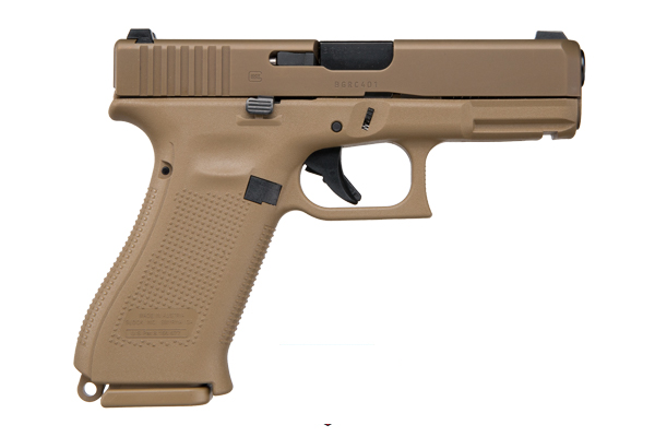 "Glock 19X 9mm 4"" Coyote"